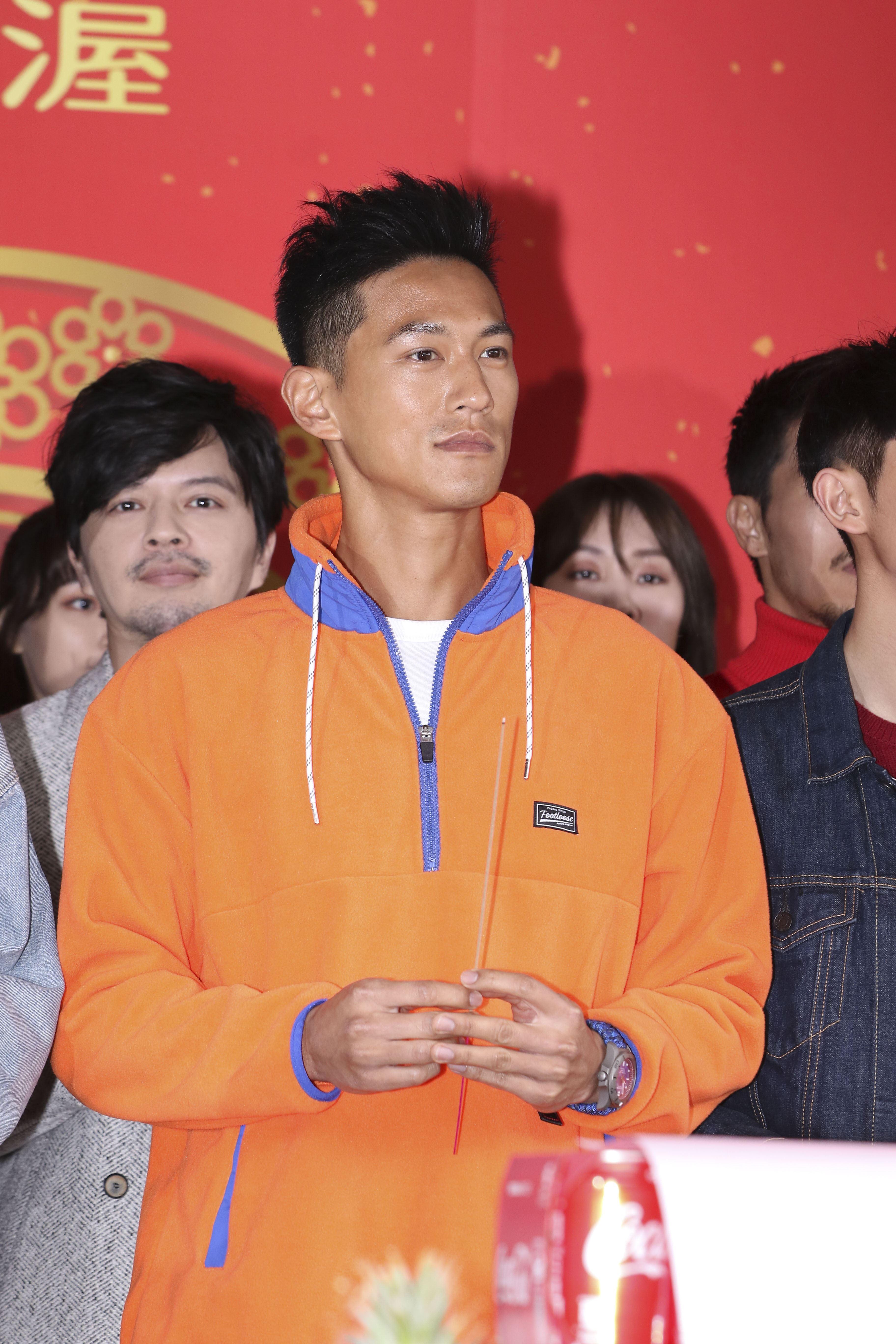 2019凱渥開春團拜,名模鍾承翰。(記者林士傑/攝影)