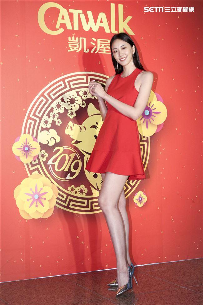 2019凱渥開春團拜,張敏紅。(記者林士傑/攝影)