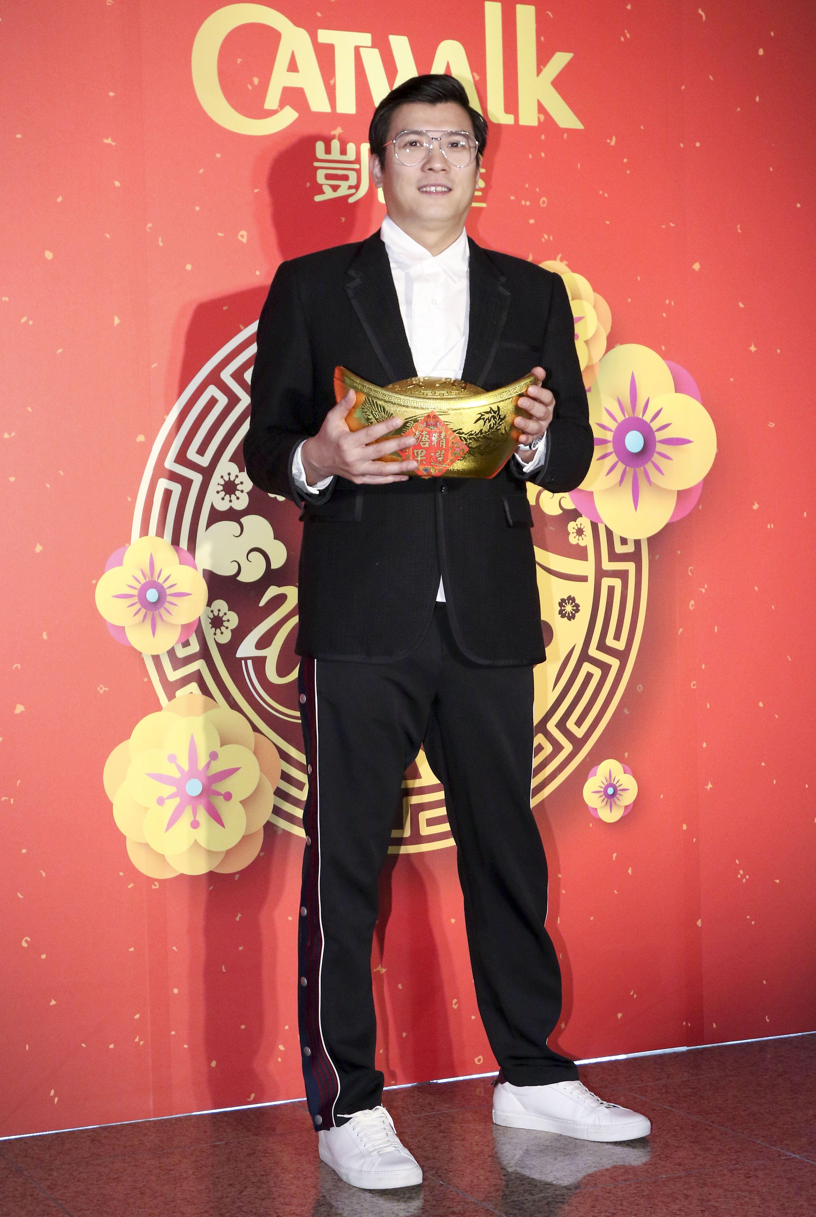 2019凱渥開春團拜,董事長吳鋒。(記者林士傑/攝影)