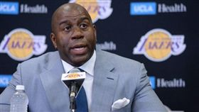 Magic Johnson。(圖/翻攝自Magic Johnson個人推特)