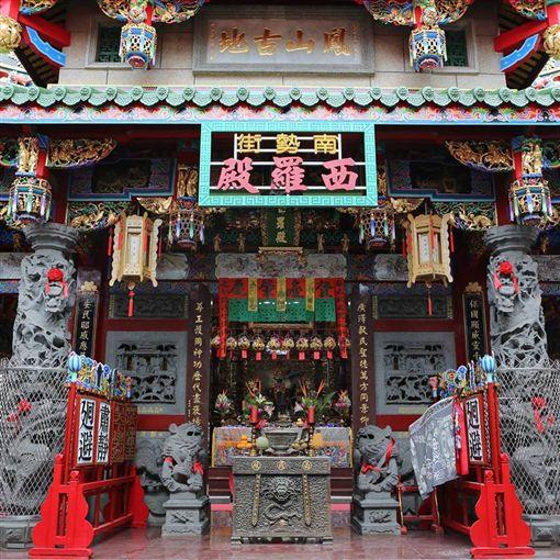 台南「西羅殿」祭祀廣澤尊王(圖/翻攝自台南南勢街西羅殿臉書)