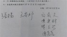 107年8/23華航勞資協議會議記錄