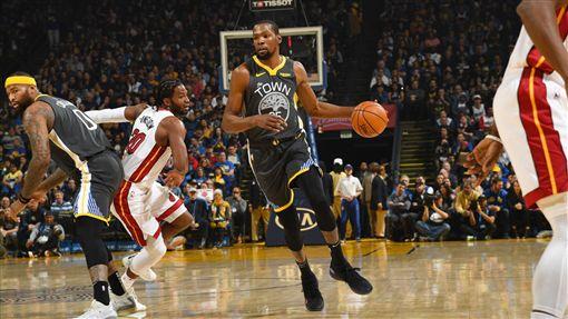 Kevin Durant。(圖/翻攝自NBA官方推特)
