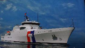 海巡4000噸巡防艦台船開工(1)