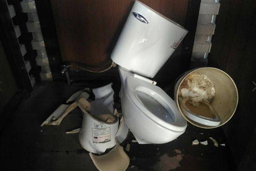 新竹,馬桶,破壞,公廁