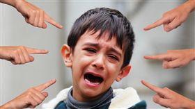 (圖/Pixabay)孩童,校園,霸凌,自閉