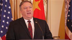 美國國務卿蓬佩奧美國國務卿蓬佩奧9日當著中國官員提到,美國與民主的台灣關係堅定,美國關切中國不斷壓迫台灣的國際空間。中央社記者鄭崇生華盛頓攝 107年11月10日