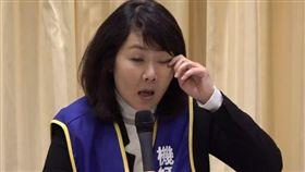 機師工會常務理事陳蓓蓓11日記者會提及,發動罷工讓她假期泡湯