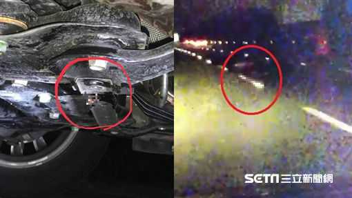 國道1男子恐慌症發作下車遭輾斃/翻攝畫面