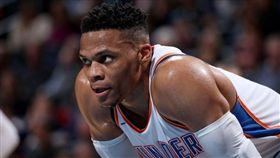 ▲威斯布克締造NBA連續「大三元」場次紀錄。(圖/翻攝自NBA推特)