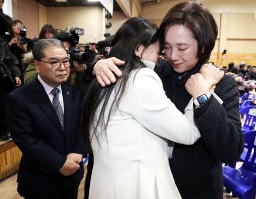 南韓,世越號沉沒,檀園高中畢業典禮(圖/翻攝自推特)