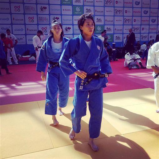 ▲連珍羚(右)鎖定2020東京奧運。(圖/連珍羚提供)