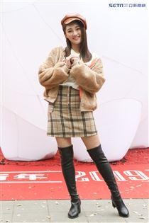 2019新光三越豬年燈展首度結合聲光秀點亮信義區,張文綺。(記者林士傑/攝影)