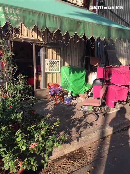 台南工人勒死女友 畏罪自殘5小時後自首(翻攝畫面)