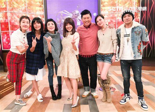 李依瑾、小優、徐小可、小馬、簡沛恩《一袋女王》圖/衛視提供