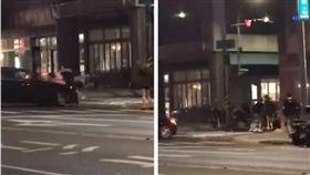 影/高雄街頭GTA真實上演 「球棒、飛車衝撞」攏總來(圖/翻攝自黑色豪門企業臉書)