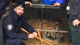 他吸大麻驚遇「大老虎」嚇到報警 警方:吸到ㄎㄧㄤ惹嗎?(圖/翻攝自BARC臉書)