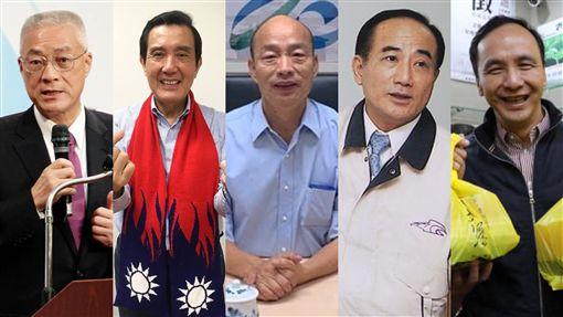 韓國瑜,總統,王金平,吳敦義,2020,朱立倫,馬英九,合成圖/翻攝自臉書