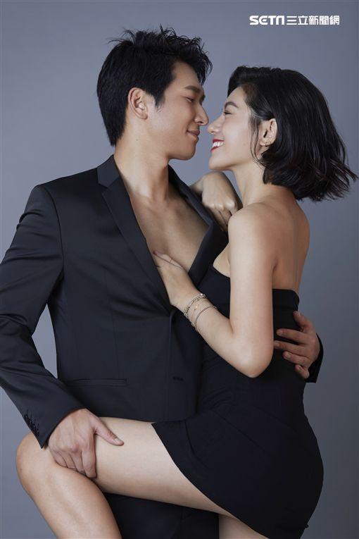 邵翔、小蠻 情人節前夕公開愛的結晶,宣布共組相親相愛工作室。/相親相愛工作室提供