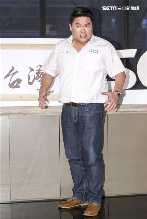 全新行腳類旅遊節目《呂讀台灣》開播記者會,主持人呂捷。(記者林士傑/攝影)