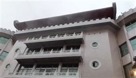 台北,文化大學,火警,大典館,教室,受困。翻攝畫面