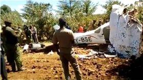 肯亞小飛機失事墜毀 機上5人悉數罹難 圖/翻攝自推特