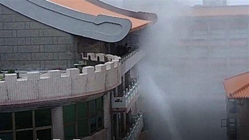 文化大學,女學生,火警,台北,翻攝畫面