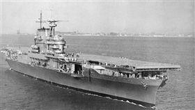 大黃蜂號航空母艦 (CV-8)。(圖/翻攝自維基百科)