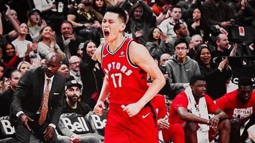 NBA/豪暴龍首秀 獲球迷熱烈歡迎NBA,多龍多暴龍,林書豪翻攝自推特