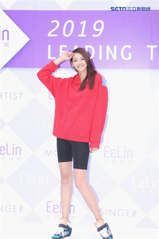 林嘉綺、溫昇豪、劉以豪、安妮、成語蕎/記者邱榮吉攝影