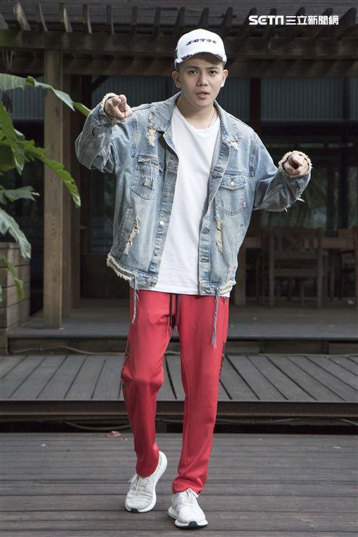 WACKYBOYS反骨男孩-孫生娛樂星聞專訪。(記者林士傑/攝影)