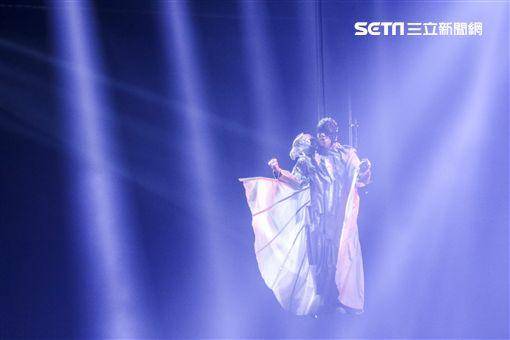 林俊傑小巨蛋演唱會。(圖/記者林士傑攝影)