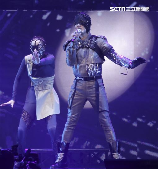 林俊傑「聖所」世界巡迴演唱會。(記者林士傑/攝影)