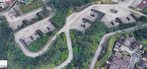 國防機密全都露!谷歌3D地圖 驚曝「愛國者飛彈」立體圖圖翻攝自Google Map