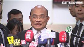 行政院長蘇貞昌回鍋後首次立院施政報告並備詢前受訪,新聞台