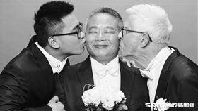 24歲台男愛上75歲英國老爹婚紗照/許常德老師授權提供