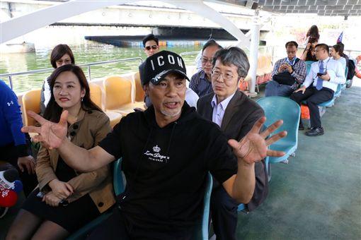 韓國瑜,任達華 圖/高雄市政府新聞局