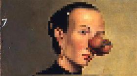臉部長瘤 示意圖