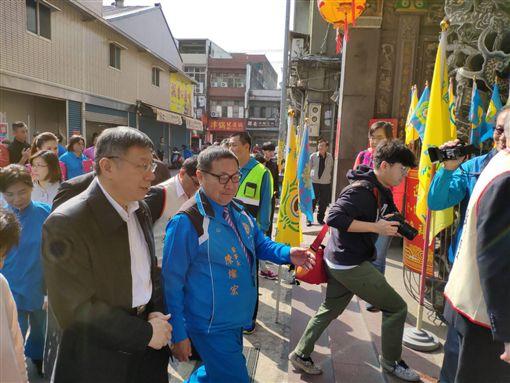 柯文哲 中壢 網友提供王浩宇臉書