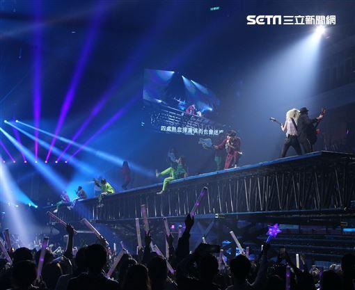 林俊傑「聖所」演唱會台北場Day2。(記者邱榮吉/攝影)
