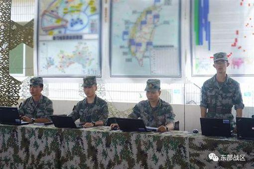 解放軍陸軍第73集團曾在演訓中秀出台灣雷達站及軍用機場。(圖/翻攝自微信公眾號「東部戰區」)