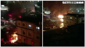 彰化社頭市場火警