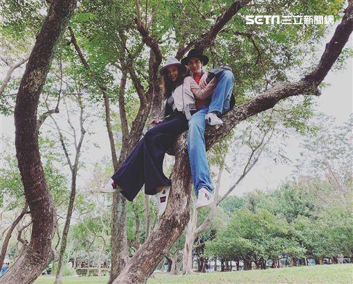 王力宏與老婆李靚蕾。(圖/宏聲音樂提供)