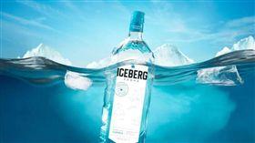 酒精飲料伏特加。(圖/翻攝自Iceberg Vodka)
