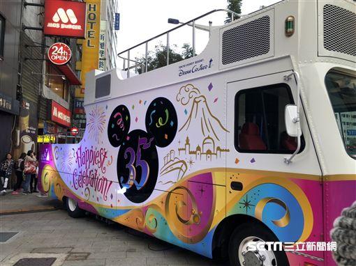 台北燈會邀請到東京迪士尼35週年紀念花車遊行。(圖/民眾提供)