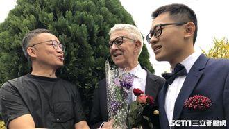台男同婚7旬英國老爹 許常德曝近況