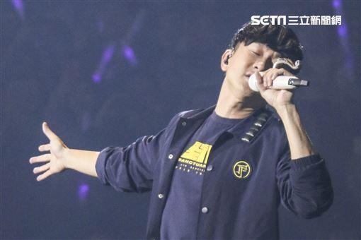 林俊傑「聖所」世界巡迴演唱會台北場第三天驚喜連連。(記者林士傑/攝影)