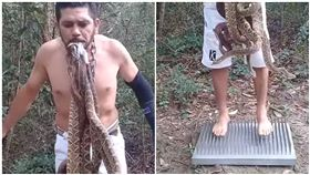 巴西,亞馬遜雨林,響尾蛇,釘床,蛇忍者(圖/翻攝自YouTube)