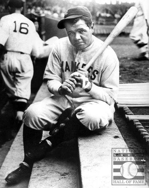 貝比魯斯圖翻攝自National Baseball Hall of Fame and Museum臉書https://www.facebook.com/baseballhall/photos/a.392432467203/10151234445602204/?type=3&theater