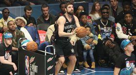 NBA/柯瑞輸了!籃網帥哥成三分王 NBA,2019全明星,三分球大賽,Joe Harris 翻攝自推特